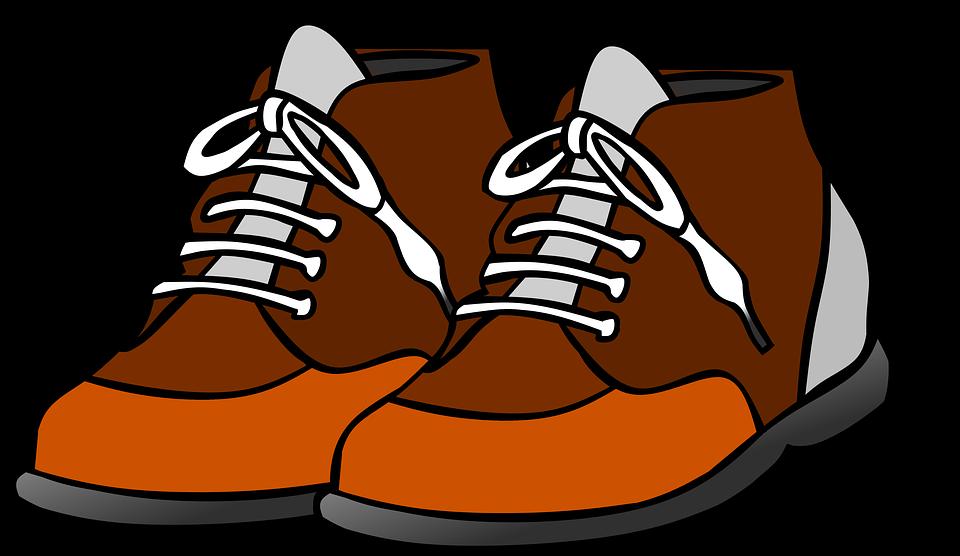 Kostenlose Illustration: Schuhe, Clipart, Schleife, Grafik.