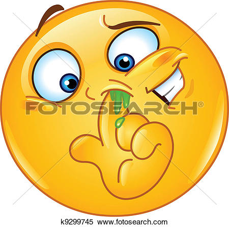 Clipart of Nose k21833125.