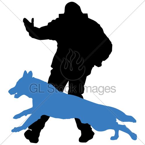 Schutzhund Send Out · GL Stock Images.