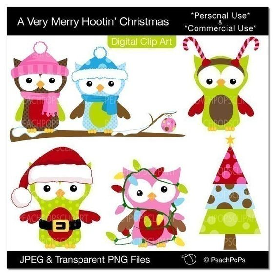 Owl, Christmas and Clip art pictures on Pinterest.