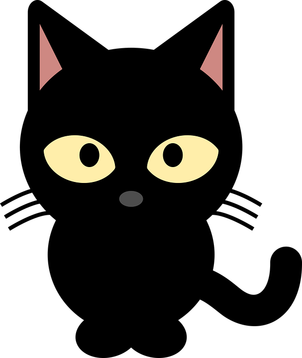 Free photo My Loves Meow Black Cat Cat Kittie Animal.