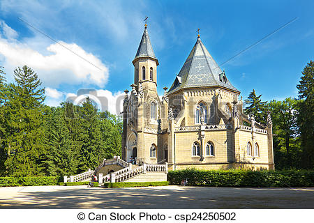 Stock Photography of The Schwarzenberg Tomb in Southern Bohemina.