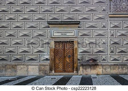 Stock Photo of Schwarzenberg palace.