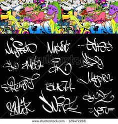 graffiti alphabet wildstyle.