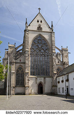 "Stock Photography of ""Altenberg Cathedral, Altenberg, Odenthal."