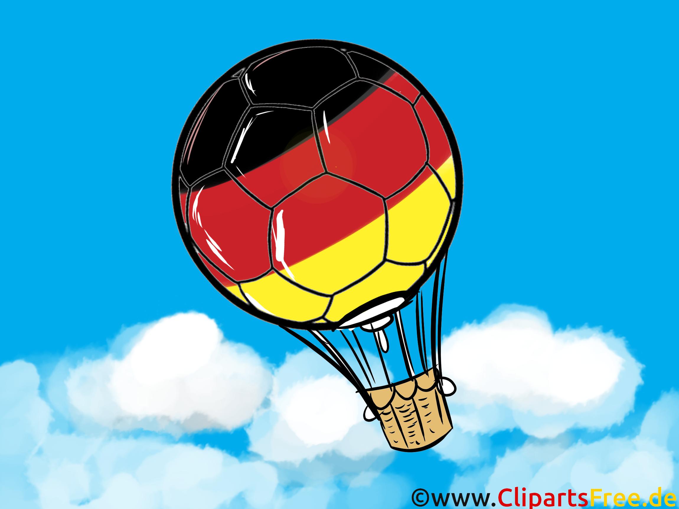 Heißluftballon Clipart.