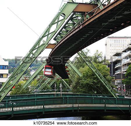 Stock Photo of Wuppertal Schwebebahn k10735254.