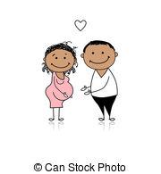 Schwangerschaft Illustrationen und Clip.