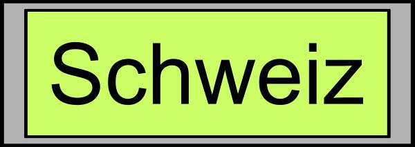 Digital Display with Schweiz Text Clipart, vector clip art online.