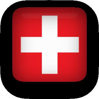 Free Animated Switzerland Flags.