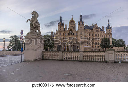 Stock Image of Germany, Mecklenburg.