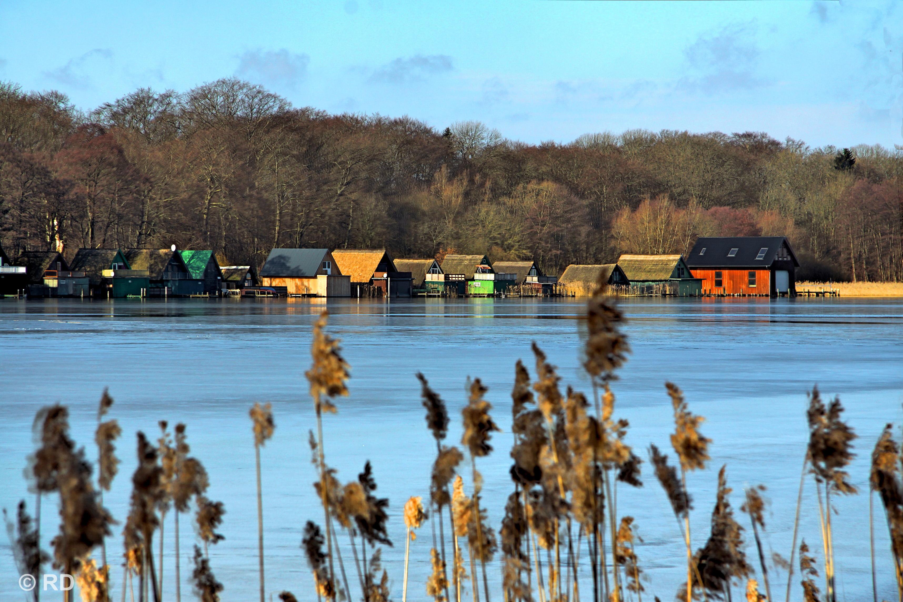 Schweriner See, Lake Of Schwerin.