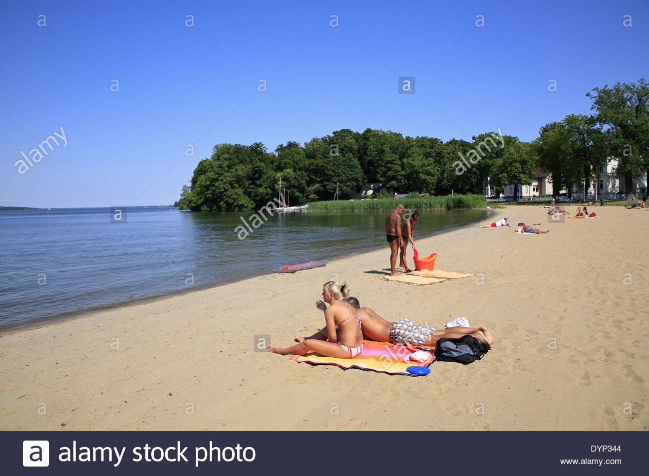 Beach In Schwerin.