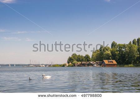 Lake Schwerin Stock Photos, Royalty.