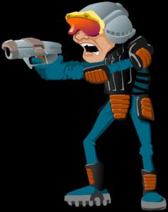 Sci Fi Cartoon Man Clip Art at Clker.com.