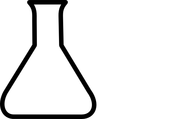 Free Beaker Clip Art Black And White, Download Free Clip Art.