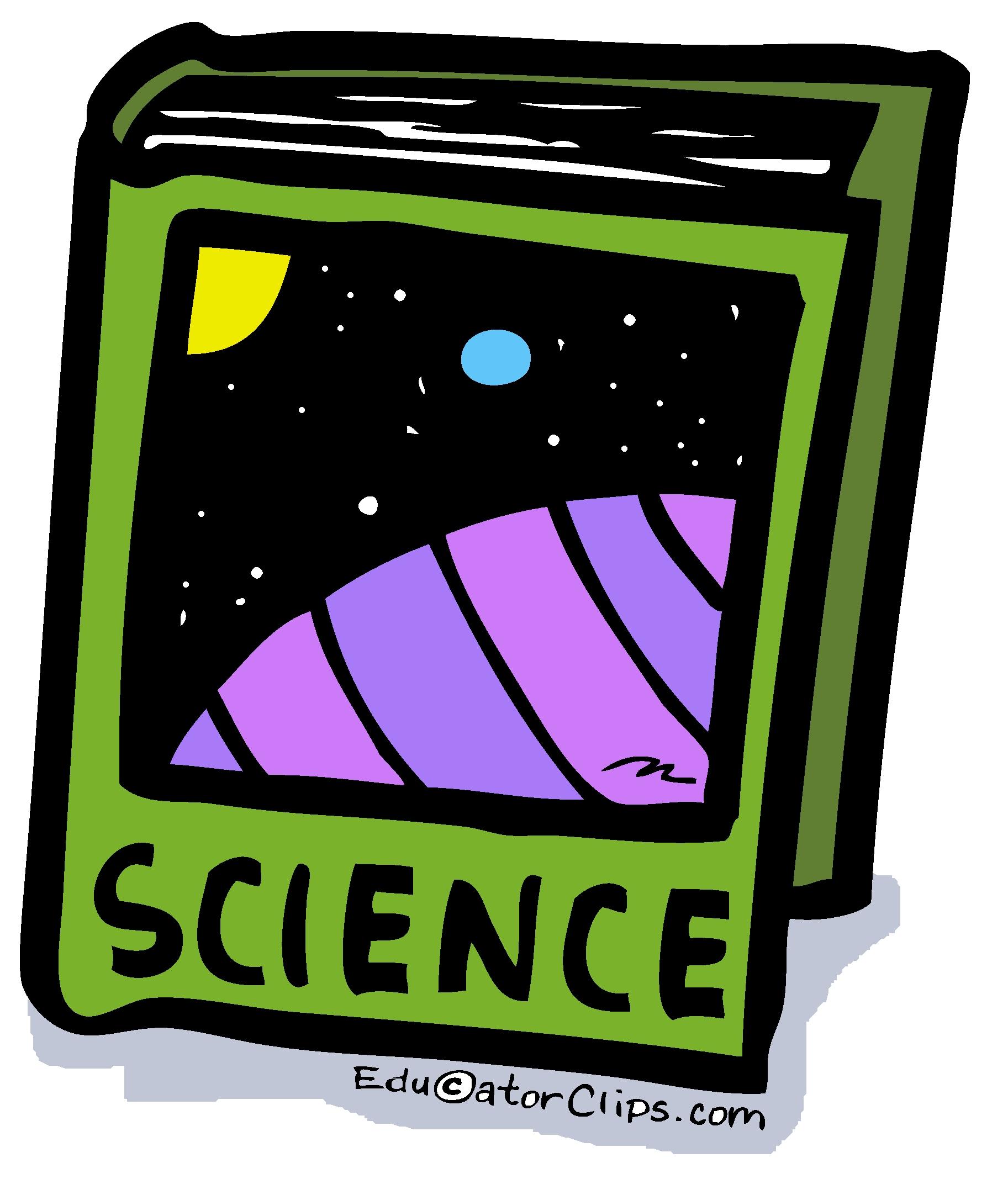 Science Book Clip Art.