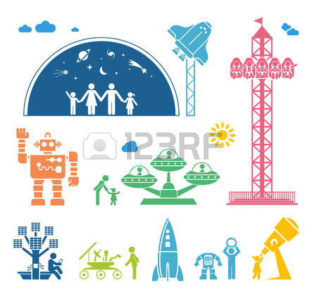 2,621 Science Center Stock Vector Illustration And Royalty Free.