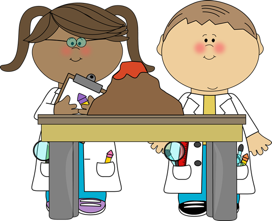 Science Classroom Clipart.