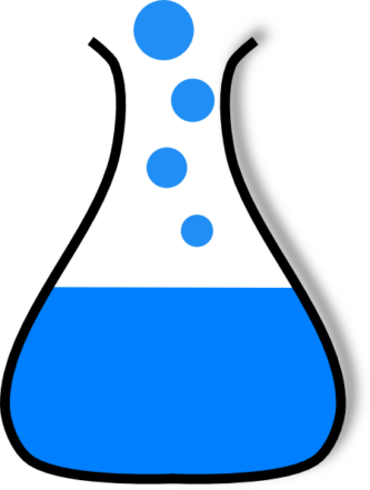 Science Beaker Clipart.