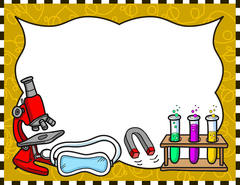 Science clipart borders 2 » Clipart Station.