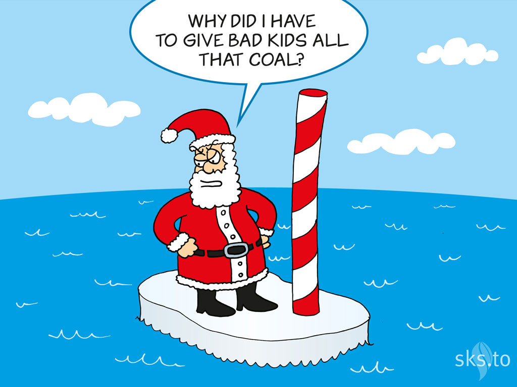 Merry Christmas and Happy Holidays from Skeptical Science.