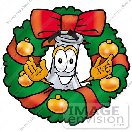 Christmas Scientist Clipart.