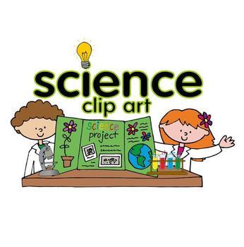 Science clip art set by Lita Lita.
