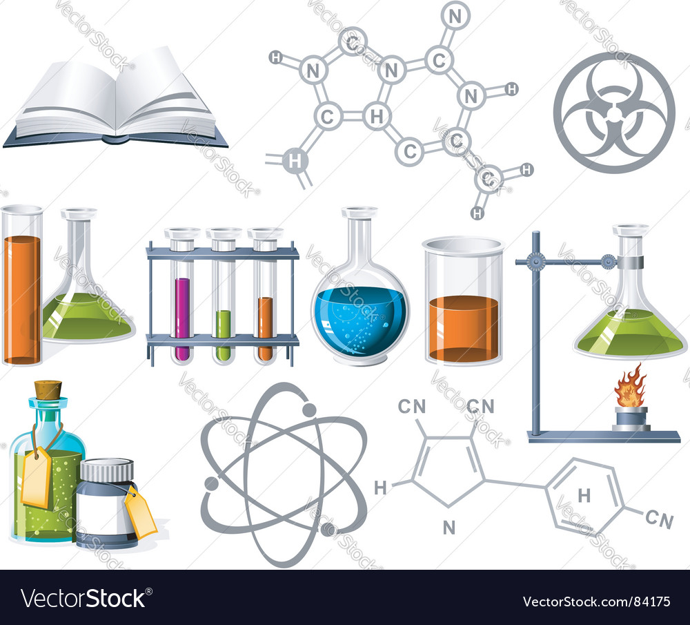science clipart vector #6