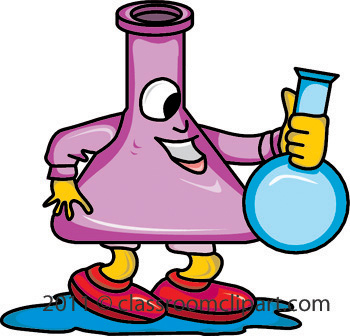 Free science lab equipment clipart.