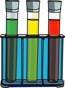 Science Lab Materials Clipart.