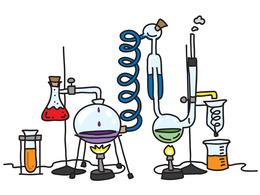 Science Lab Equipment clipart.