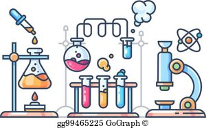 Scientific Experiment Clip Art.