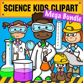 Science & STEM Kids Clipart.