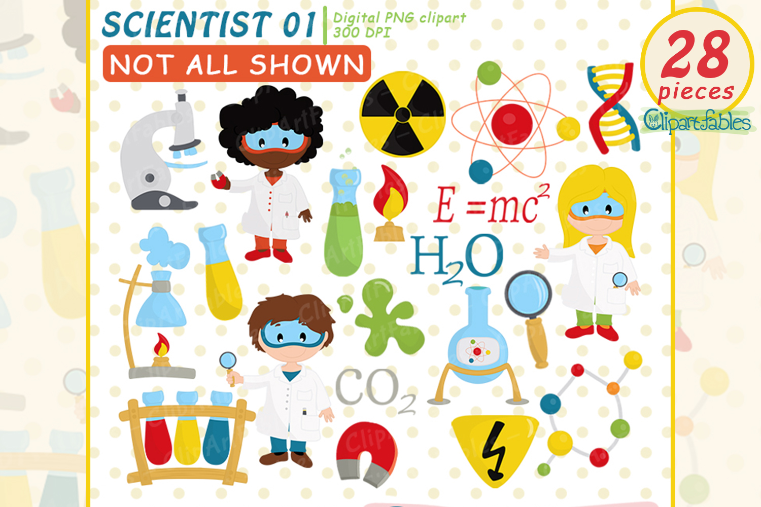 Scientist Kids clipart, Cute science Kids, Science Clip art.