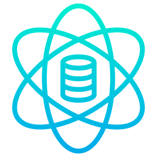 Data Science Icon of Gradient style.