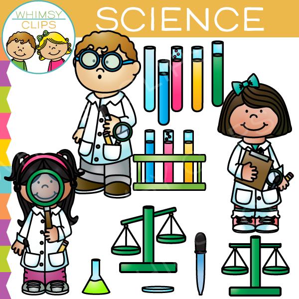 Science Lab Clip Art.