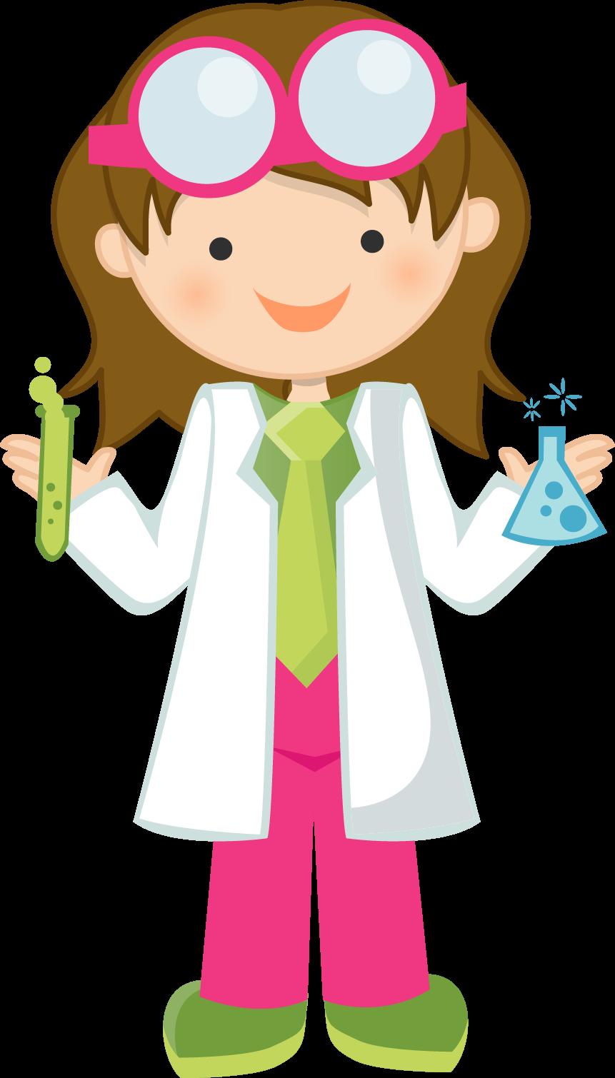 Scientist clipart science material, Scientist science.
