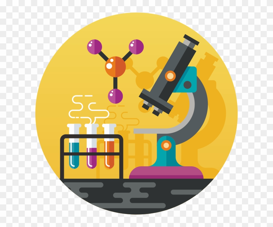 Microscope Clipart Home Science.