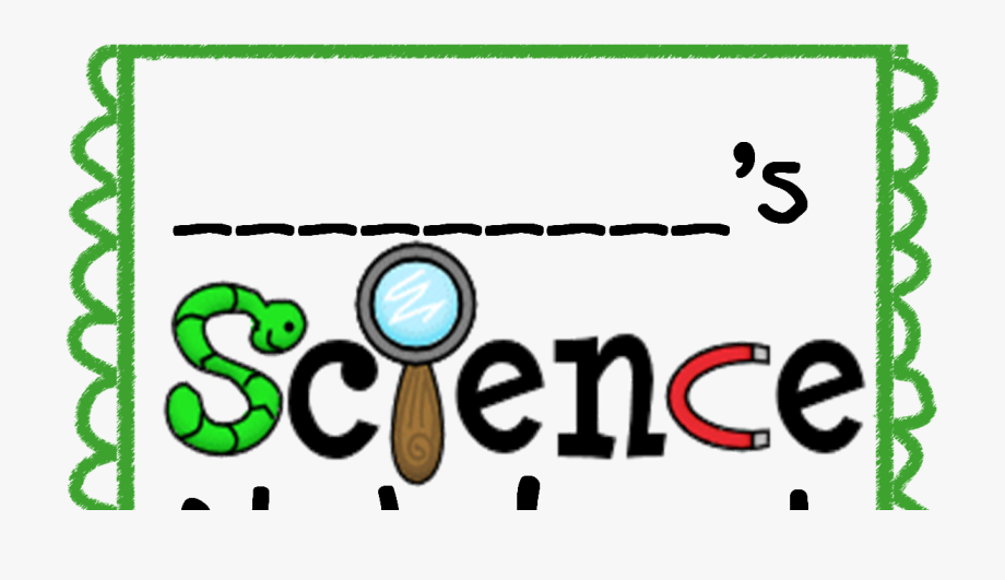 Science Notebook Clipart.