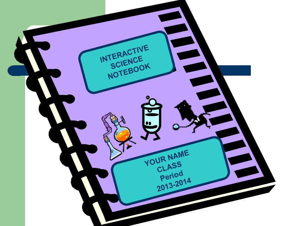 How to use your INTERACTIVE SCIENCE NOTEBOOK.