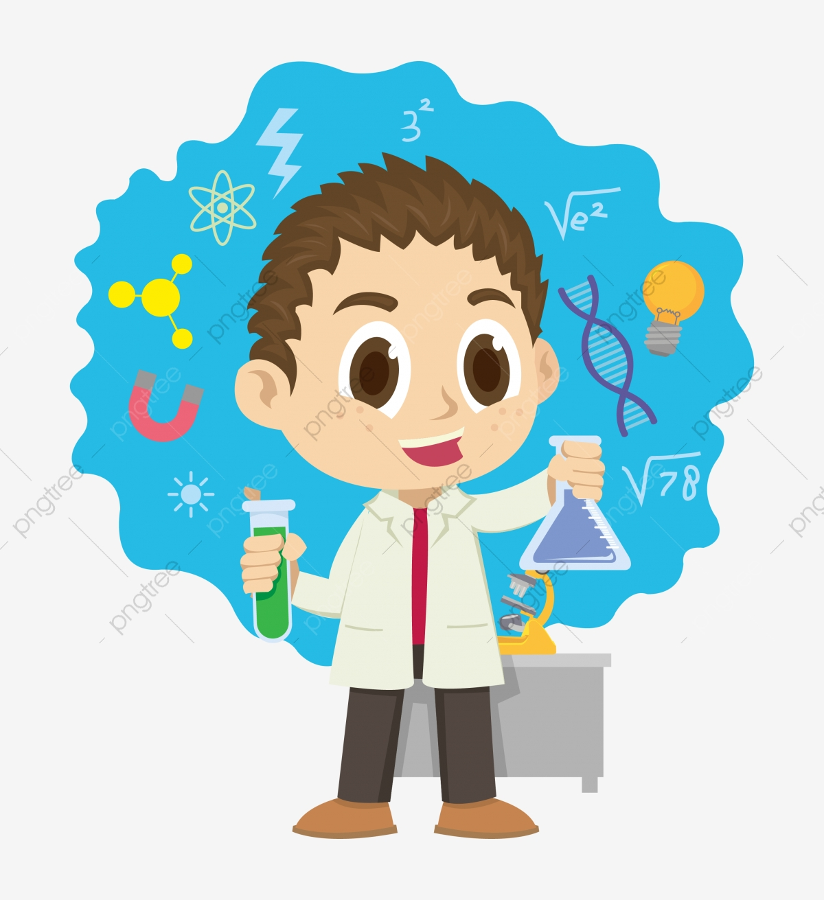 Science, Illustration, Equipment PNG and Vector with.
