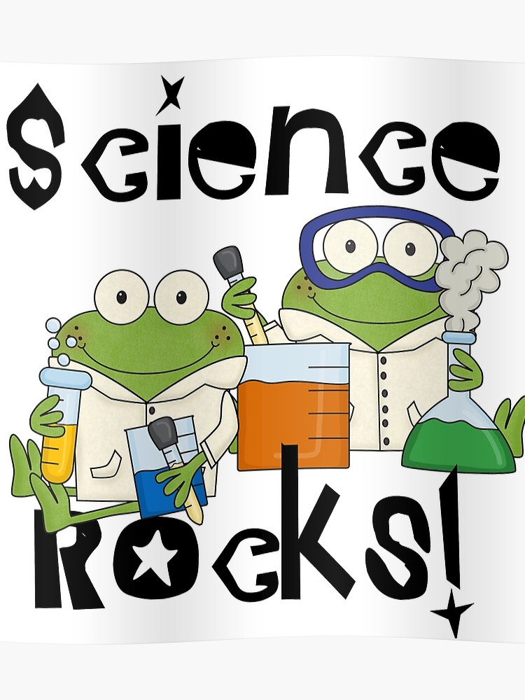 Laboratory Frogs Science Rocks.