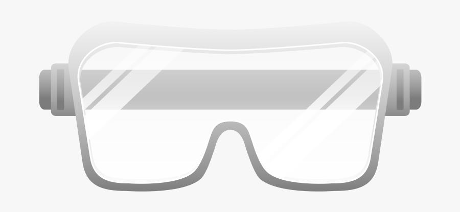 Safety Glasses Reminder Clipart.