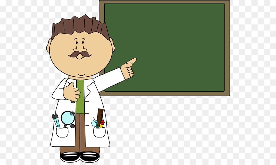 Scientist Cartoon clipart.