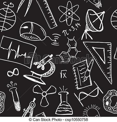 Science Technology Engineering Math Clipart Black And White