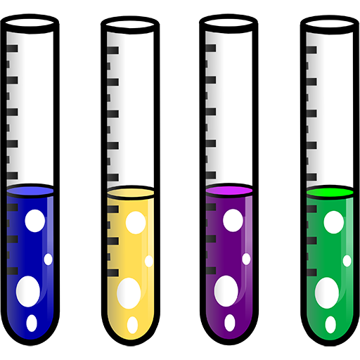 Test tube laboratory clipart image.