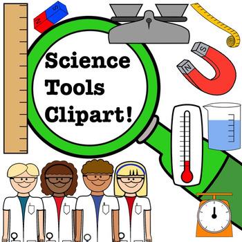 Science Clipart Set.