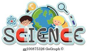 Science Word Clip Art.