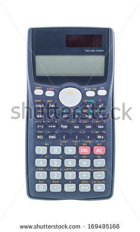 Scientific Calculator Stock Images, Royalty.